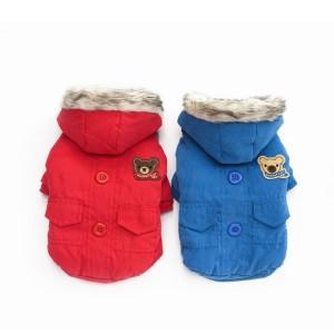 zimní bunda medvídek
